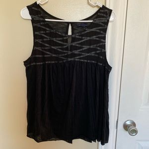American Eagle Leather Strap Tank